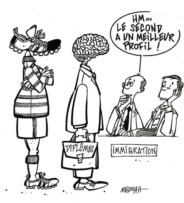 Une vérité qui dérange  dans voyage Immigration