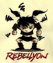 Créons des médias alternatifs RebellyonLogoFille