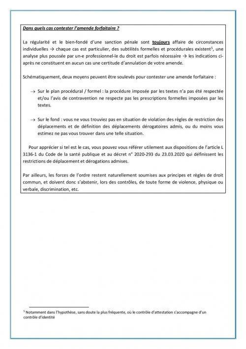 Comment Contester Une Amende Pour Non Respect Du Confinement Rebellyon Info