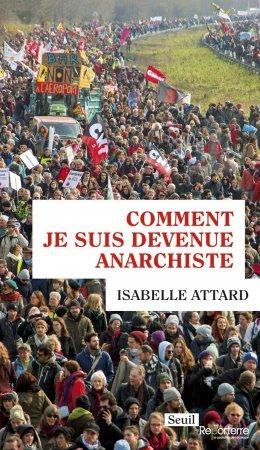 «Comment je suis devenue anarchiste» conférence/débat avec Isabelle Attard le jeudi 23janvier