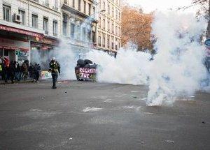 Violence à la manifestation du jeudi 5décembre