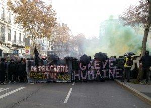 Grève générale: le 6décembre, la mobilisation se poursuit de plus belle à Lyon!