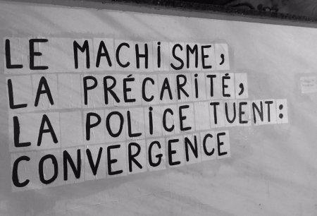 Solidarité avec les colleuses lyonnaises – Rendez-vous devant la Maison de la Justice et du Droit de Villeurbanne le 9décembre à 14h30
